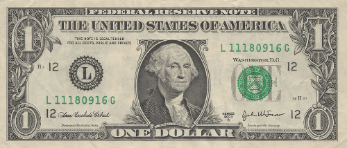 The American One Dollar Bill